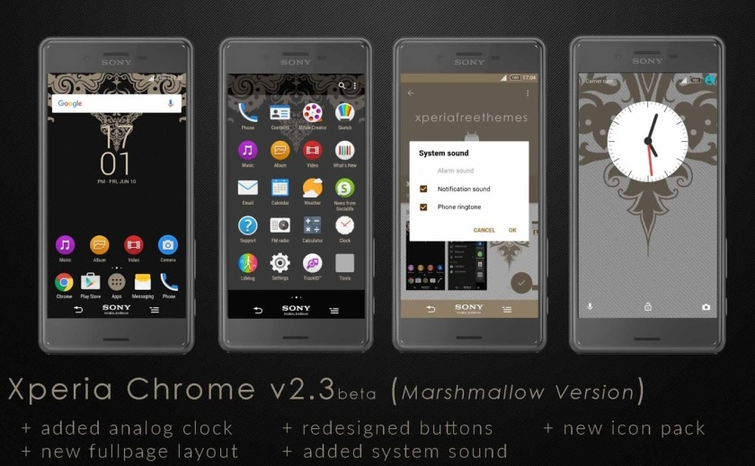 Chrome V2.3 Theme